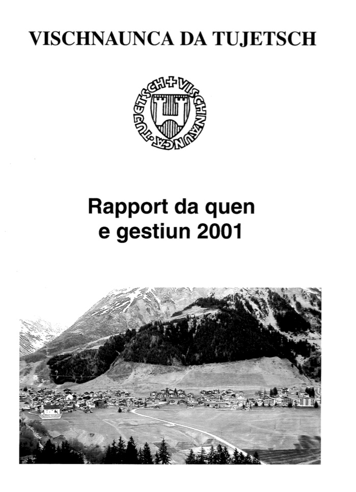 Rapport annula 2001